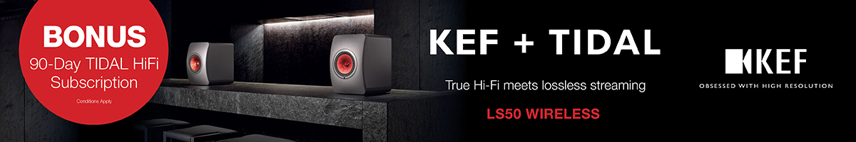 KEF + Tidal